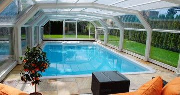 schwimmbad plexiglas und thermoclear