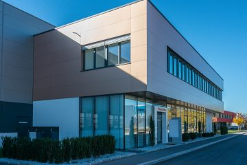 Alucobest Fassade bronze