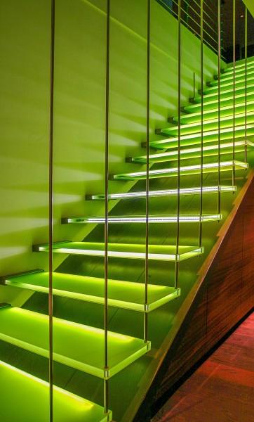Treppen Led Beleuchtung   Treppe Mit Led Beleuchtung Concenta Austria Gmbh