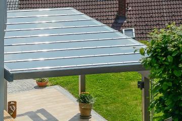 concenta-austria conpro terrassenüberdachung mit glas