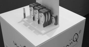 concenta-austria messebau conbond und plexiglas display