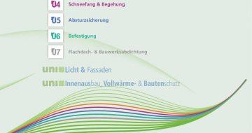 Katalog-Uni-Bausysteme Dachbau Deckblatt