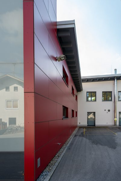 Feuerwehrhaus Palting Uni Bausysteme Gmbh