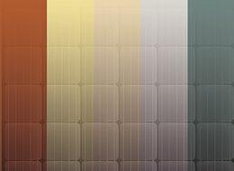 UNI-Bausysteme GmbH - UNI-Kioto Produktfoto Fassade mehrfärbig
