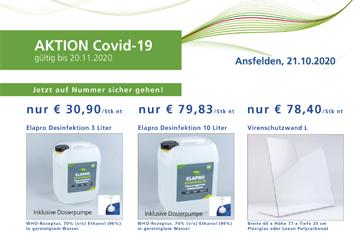 Aktion 2020 Covid-19 Desinfektion-Vorschau