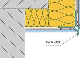 UNI-Bausysteme - Tropfkantenprofil